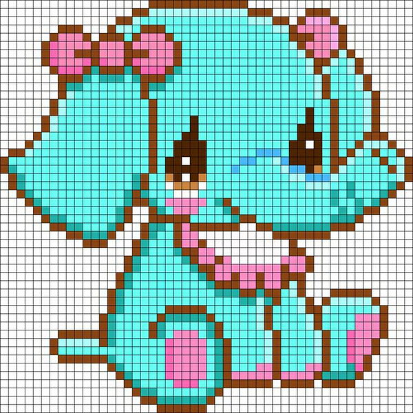 Elephant beads patterns http hative com cool perler bead patterns