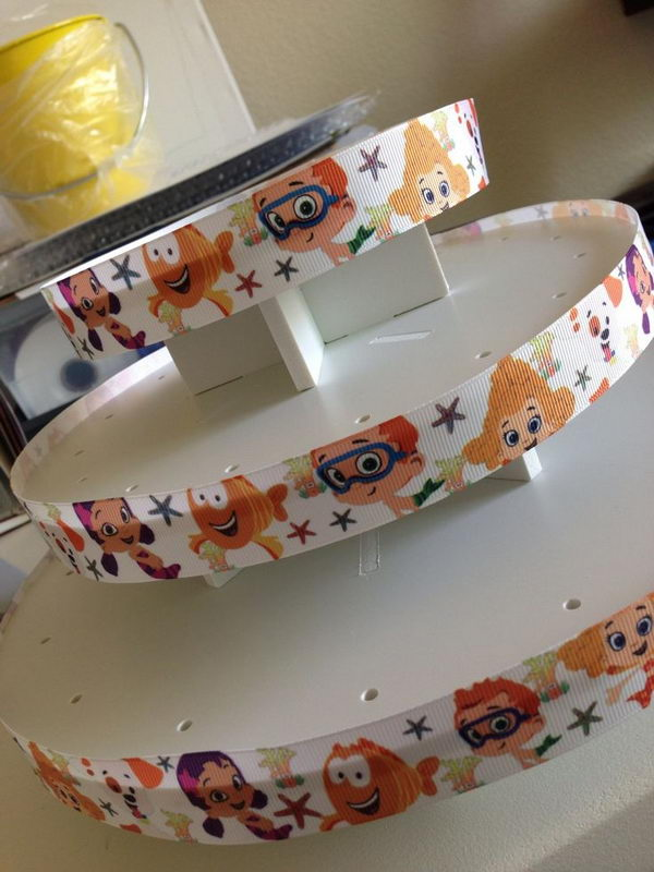 DIY Cake Pop Stand Decor For Bubble Guppies Party